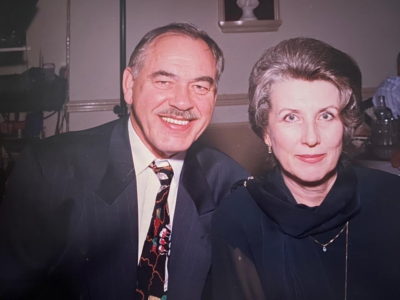 Врач Ольга Надеина и журналист Владимир Надеин