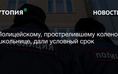 Симоновский районный суд Москвы приговорил бывшего полицейского Ивана Князева, выстрелившего в колено 13-летней девочке, к трем годам лишения свободы условно,
