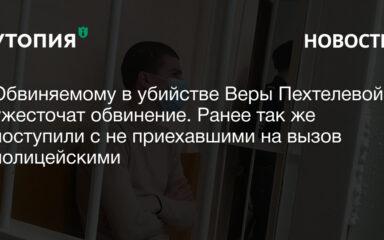 Обвиняемому в убийстве Веры Пехтелевой ужесточат обвинение. Ранее так же поступили с не приехавшими на вызов полицейскими