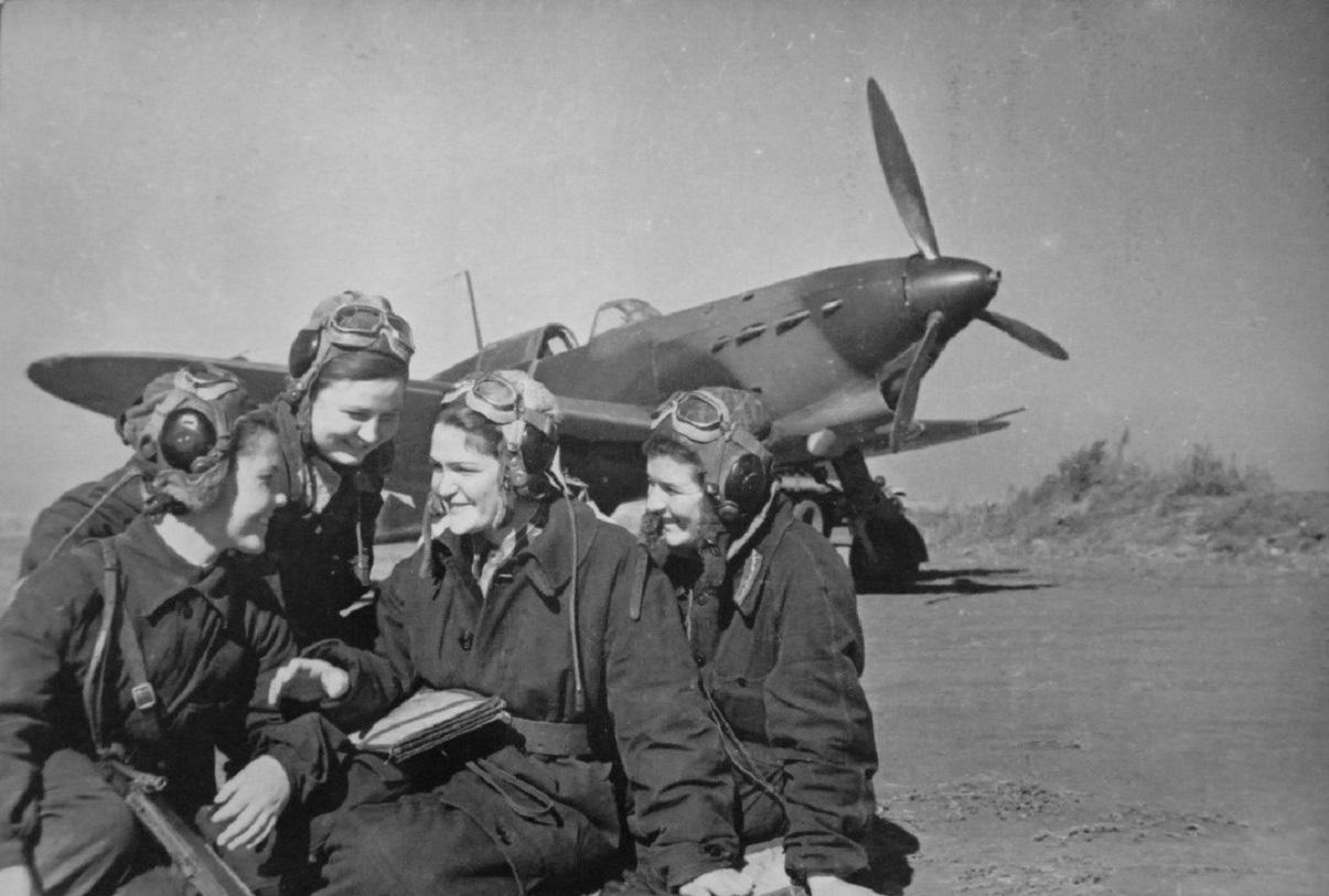 военные летчицы великая отечественная война