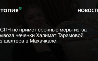 ЕСПЧ не примет срочные меры из-за вывоза чеченки Халимат Тарамовой из шелтера в Махачкале