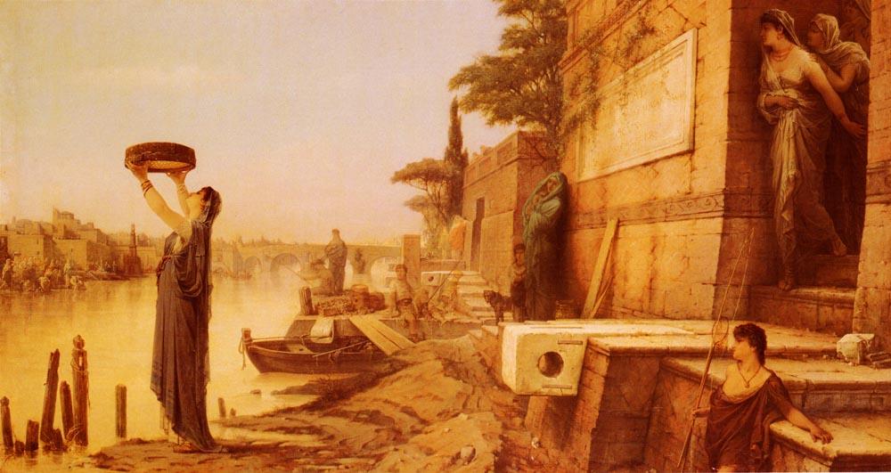 весталки, Древний Рим женщины, картинка весталка тукция