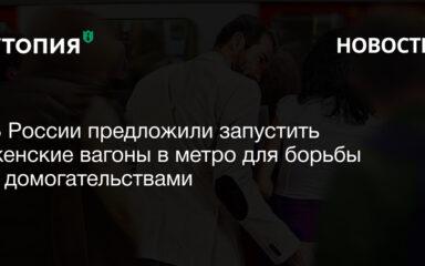 В России предложили запустить женские вагоны в метро для борьбы с домогательствами