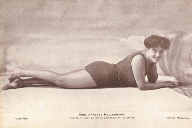 Аннет Келлерман в купальнике