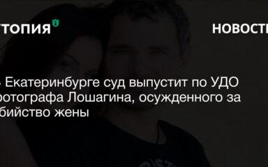 В Екатеринбурге суд выпустит по УДО фотографа Лошагина, осужденного за убийство жены