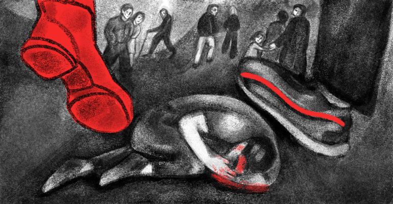 Насилие, свидетели насилия, что делать если увидел насилие, реакции