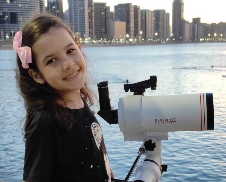 Николь Оливейра, самый молодой астроном в мире